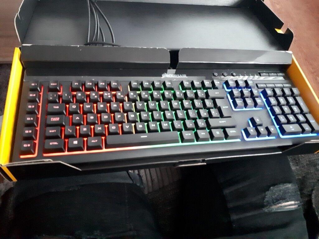 Corsair K55 RGB Gaming Keyboard | in Kearsley, Manchester | Gumtree