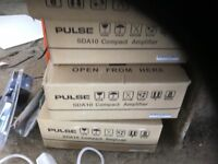 4x Pulse SDA10 compact amplifer(open to offers)