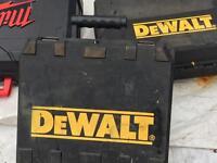 Dewalt empty power tool box