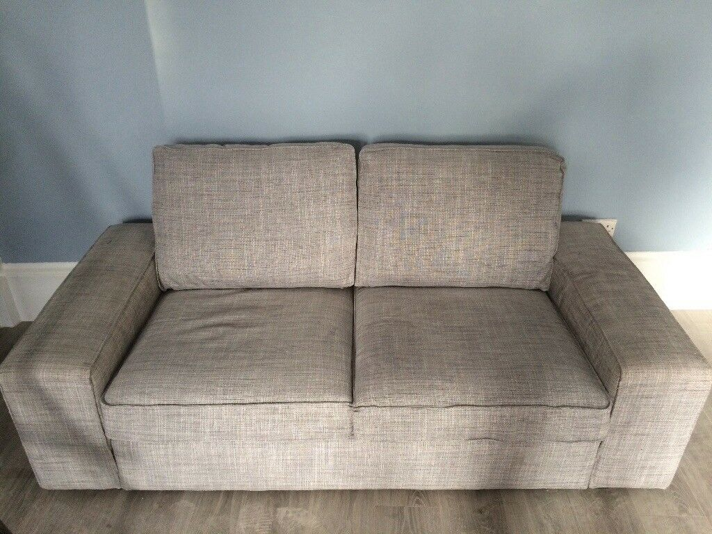 Ikea Kivik Isunda Grey 2 Seater In Finnieston Glasgow