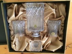 Crystal Decanter Set - The Italian Giftware Collection