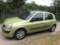 Renault Clio 1.1 Economy Model 2005, Not Corsa, Fiesta, Polo