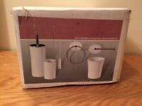 6 Piece Ceramic Bathroom Set