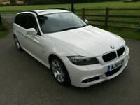 2010 BMW 320D M-SPORT ESTATE MANUAL WHITE 102K