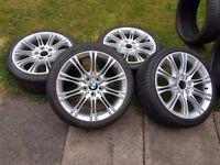 """BMW MV2 reps 18"""" Alloys"""