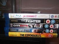 5 blu-ray movies