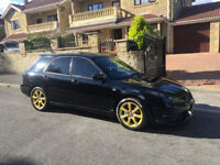 Subaru Impreza WRX 2.5 TURBO 5dr turbo estate LEATHERS, SUNROOF XENON PX WELCOME AUDI VW FORD SKODA