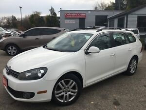 2011 Volkswagen Golf Wagon Leather | Diesel | Panoramic Roof Kitchener / Waterloo Kitchener Area image 1