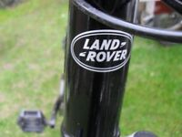 mans bike not seen one like this be for ladnd rover descuverry