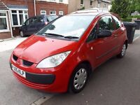 2005 05 REG MITSUBISHI COLT 1.1 RED 3 DOOR HATCH