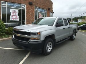 2017 Chevrolet Silverado 1500 WT 4x4 w/ Double Cab and extras!