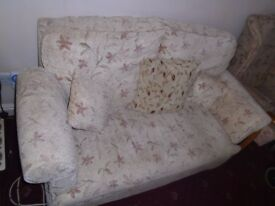 Sofa. Two seater HSL sofa. £80 ono. Hull. Tel 01482844513