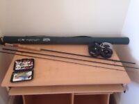 Cortland fly fishing set