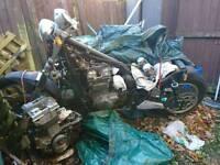 Kawasaki en500 bobber project