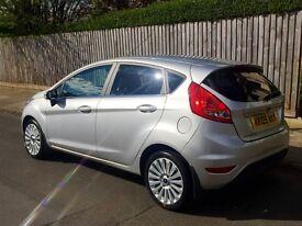 Ford Fiesta Titanium 1.6 09, alloys, sensors, Bluetooth, low miles, 10 months MOT, New Bosch Battery