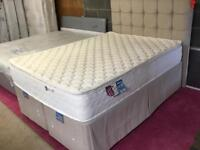 Double luxury Bed Pocket Sprung Mattress and Headboard