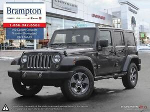 2016 Jeep WRANGLER UNLIMITED Sahara Auto 4 Door Navigation