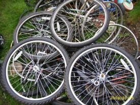 any parts or whole bike working VGC bike PUMP,LOCKS CHAIN BREAK WHEEL TYRE LIGHTS HELMETS FRAME