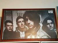 Arctic Monkeys framed original print.