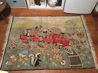 RARE!!!!Original Vintage Disney Rug