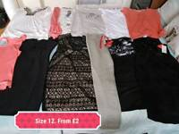 Size 12 to 14 clothes