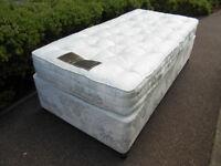 Millbrook 3ft single pocket sprung divan bed