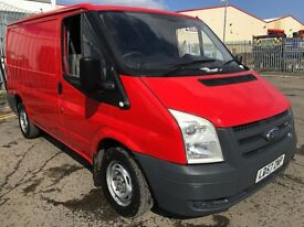 Ford Transit 2.2 260 - 1 Owner From New, Full Service History, 1YR MOT, Warranty, Rear Sensors,