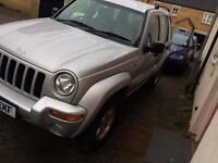 Jeep Cherokee 2004 88k miles only automatic diesel