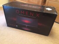 ★ NEW Boxed HP OMEN X 35 inch Curved Gaming LCD LED Monitor Nvidia G-Sync 100Hz 3440 X 1440 (UWQHD)