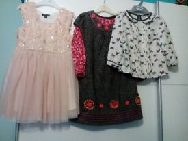 Girls dresses and top, aged 4