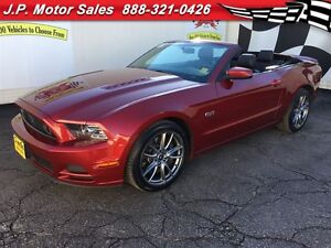 2014 Ford Mustang GT, Manual, Leather, Convertible, Only 40, 000