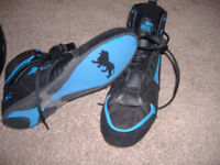 2 pairs of boxing boots
