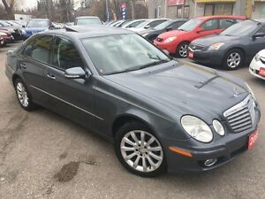 2008 Mercedes-Benz E-Class 3.0L/AWD/LEATHER/ROOF/LOADED/ALLOYS