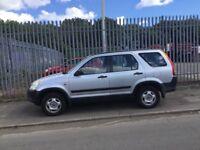 Honda crv 53 reg. motd april 19. Needs tlc £375
