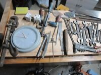 Small Quantity of tools