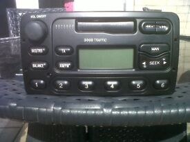 Ford 3000 traffic radio cassette player with code