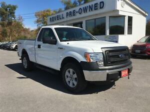 2014 Ford F-150 XL 4X4 Short box *1-owner  V6  Cruise  Linex