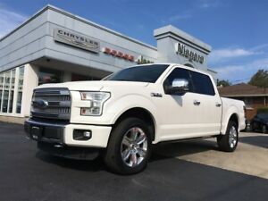 2015 Ford F-150 PLATINUM,20S,LEATHER LOADED