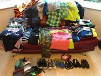 Large Bundle of Boys Clothes Age 5-6. Over 50 items. Lots of Next also Boden, Converse, Crocs. VGC