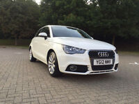 2012 Audi A1 1.6 TDI Sport White Manual