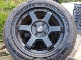 Rota alloys new tyres