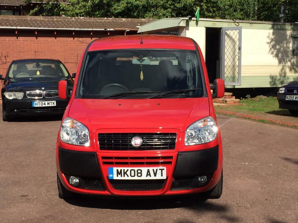 FIAT DOBLO MULTI JET 7 SEATER ONE OWNER FROM NEW NATIONWIDE DELIVERY 2195