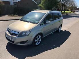 2008 08 Vauxhall Zafira 1.9 SRI CDTI 150bhp 124k 12 months MOT !!!! Px !!!