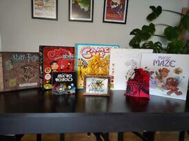 Board games - Harry Potter, Magic Maze & more