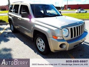 2010 Jeep Patriot Sport *** CERTIFIED * ACCIDENT FREE ***