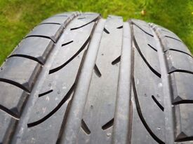 Bridgestone Potenza Run Flat Tyre - Seat Alhambra and others - nearly new.