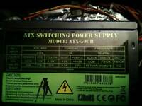 ATX 500w switching PSU