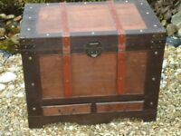 Large Wooden Trunk / Chest / Coffee Table