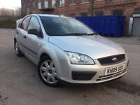 05 plate - ford focus 1.6 diesel -9 months mot - warranted miles - recon turbo - timing belt done