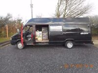 Iveco Turbodaily 35.10 XLWB Camper FULLY WORKING with MOT
